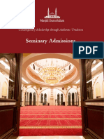 Seminary Admissions