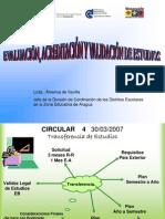EVALUACIÓN Y EQUIVALENCIAS40