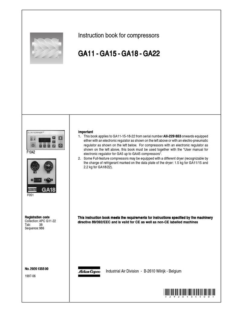 Manual de Instrucciones GA 11-22 - AII 229653.pdf | Clothes Dryer | Valve