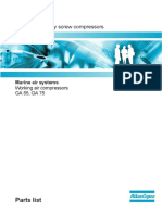 Manual de Partes GA 55 - 75 - Serie Del API 513915 Al 518000