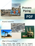 What is Process Piping?