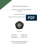 Laporan Kknp Kanim Malang