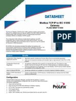 PLX82 MNET 61850 Datasheet