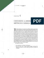 Choosing a Mixed Methods Design