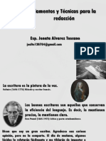 Fundamentos y Técnicas Para La Redacción