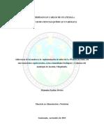 Adherencia de Las Madres a La Suplementación de Niños de 6 a 59 Meses Con Micronutrientes - Guatemala