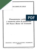 Pedro Fermín de Vargas