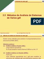 3.5 Metodos de Analisis de Sistemas de Varios Gdl