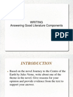 Answering Literature Component