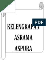 Labelling Asrama