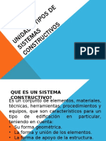 UNIDAD II Tipos de Sistemas Constructivos