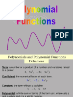 Polynomial Functions 1