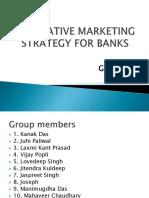 BANK - Innovative Marketing Strategy