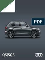 Audi Q5 2017 Brochure