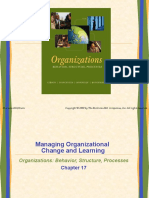 Managing Organizational Change and Learning - Copy