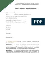 FORMATO REGLAMENTO DE HIGIENE Y SEGURIDAD INDUSTRIAL.docx