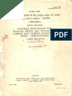 IS - 814 - 1991 (PART-1)