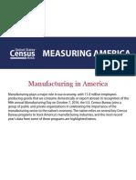 Manufacturing in America Woha