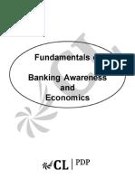 Fundamentals of Banking Awareness and Economics