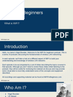 WiFi for Beginners Module 1 What is WiFi