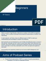 WiFi for Beginners Module 2 RF Basics