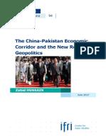 Hussain China Pakistan Economic Corridor 2017