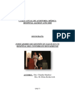 Indicadores Hospital Publico