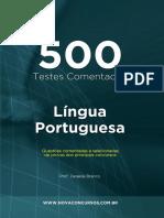 Lingua Portuguesa 500 Questões