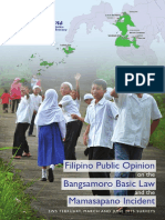 Pr20150814b - Filipino Public Opinion on the BBL and the Mamasapano Incident_2015