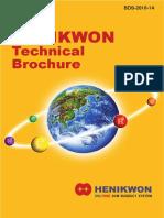 Henikwon Brochure