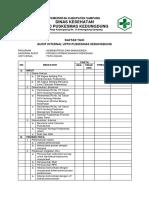 Daftar Tilik Audit (Admen)