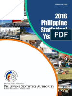 Philippine Statistics Yearbook 2016