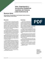 Programa de Gestión, Organización y Regulación de Internaciones Pediátricas