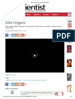 DNA Origami _ The Scientist Magazine®