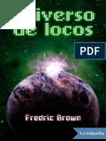 Universo de Locos - Fredric Brown