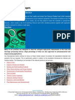 Seal Technology for Food and Beverages Industry
