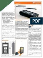 406MHz Sarsat Beacon Tester Brochure Epirb