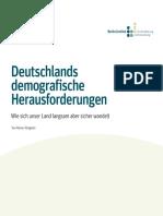 Deutschlands demografische Herausforderungen