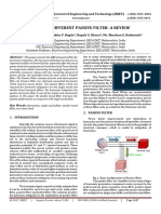 Study Of Different Passive Filter- A Review
