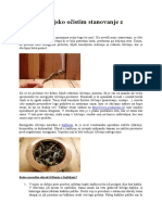 Kako Energijsko Očistim Stanovanje z Žajbljem