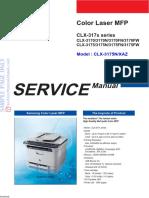 Samsung Color Laser Clx 3170 Clx 3175 Service Manual Free