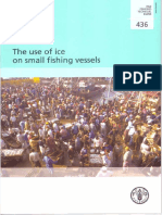 The Use of Ice on Small Fishing Vessels. FAO Tech-paper. 2003