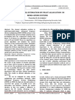 Sparse channel estimation by pilot allocation  in   MIMO-OFDM systems