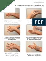 Indicații Pentru o Dezinfecție Corectă a Mâinilor