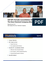 1911-SAP BPC Periodic ConsolidationModel- The Dow Chemical Company