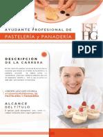 Ayudante Prof. Pastelería y Panadería
