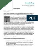 Kundalini Rising Info Sheet 1