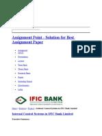 Ific Icc Report