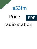 Price 53 Fm