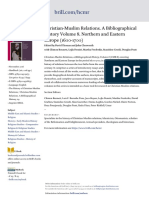 Christian-Muslim Relations. A Bibliographical History Volume 8. Northern and Eastern Europe (1600-1700)